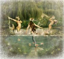 Water Nixies by JinxMim