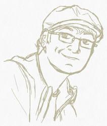 Portrait of a MattMan by Mr-Page