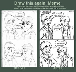 Draw This Again! Meme by Mr-Page