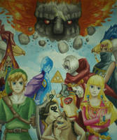 Skyward Sword by starbuxx