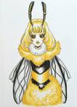 Queen Bee  by starbuxx