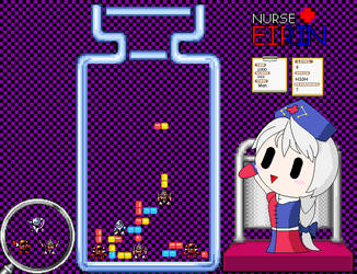 Nurse Eirin by Neo-Kirby-and-watch