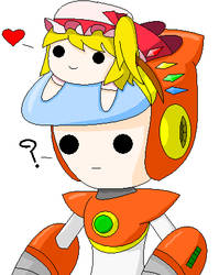 Flan is a Hat by Neo-Kirby-and-watch