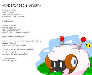 CyberSheep's Dream by Neo-Kirby-and-watch