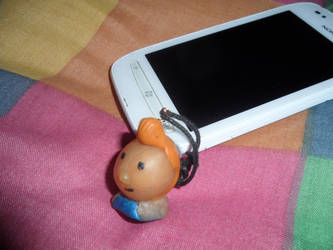 polymer clay Tintin by S-e-l-a