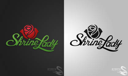 Client Logo - Shrine Lady 2012 by StratzDesigns