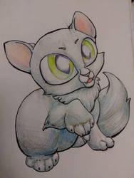 kitten by Tulpi