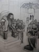 Thorin Chastises Vaenomar by BlueOakRogue