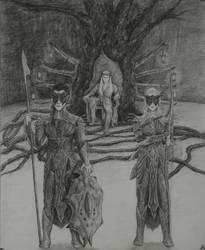 Guardians of Mirkwood by BlueOakRogue