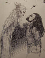 Thrandy and Thorin by BlueOakRogue