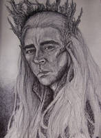 Thranduil, King of the Greenwood by BlueOakRogue