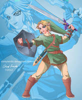 Twilight Princess Link by coreylandis