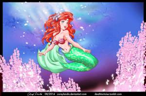 Little Mermaid Ariel 8 14 by coreylandis