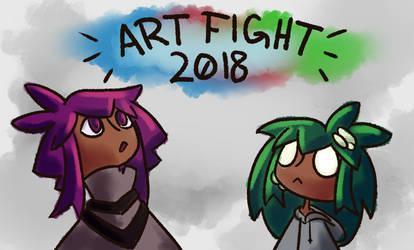 Art Fight!! by technichromatic