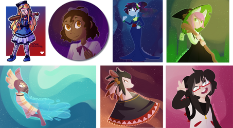 Art Fight 2018, part... let's call it four by technichromatic