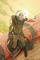 Dmalan Cosmonaut by DaveMalan