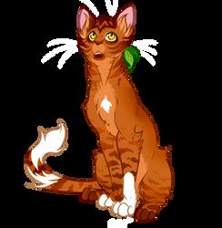 Warrior Cats characters - Alderheart by Kocurzyca