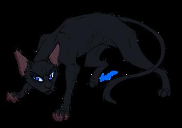 Warrior Cats characters - Crowfeather by Kocurzyca