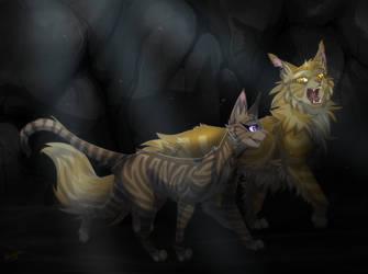 LionHeather - Moonlight Shadow by Kocurzyca