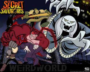 Weird World Wallpaper The Secret Saturdays by CrypticCharmander