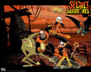 The Secret Saturdays Family Wallpaper by CrypticCharmander