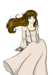 Medieval Girl request by HuronGirl