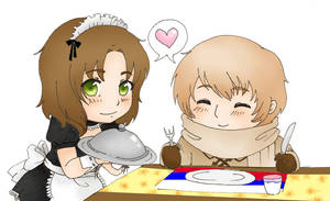 APH:Dinner time by HuronGirl