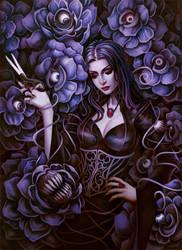 Morticia Addams by RadiusZero
