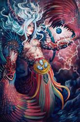 Bizarro Sephiroth by RadiusZero