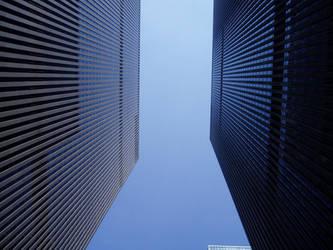 Between the buildings by evildunkingrl87