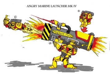 angry marine launcher by marshall-Tharidus