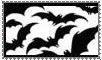 bats stamp by morbidpumpkin