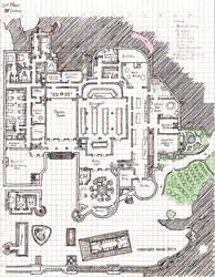 Pinnacle Castle 1st Floor Layout by KayIscah