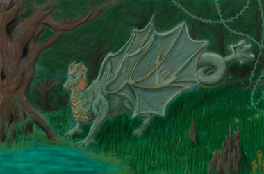 Swamp Dragon by KayIscah