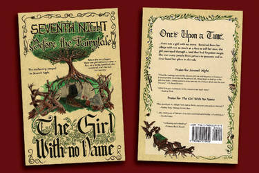 New Cover for The Girl With No Name by KayIscah