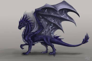 Storm dragon by x-Celebril-x
