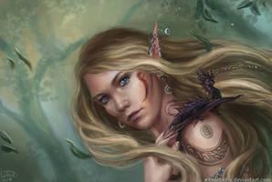 She-elf by x-Celebril-x