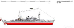 Kolonialkanonenboot 1939 (Colonial Gunship 1939) by DG-Alpha