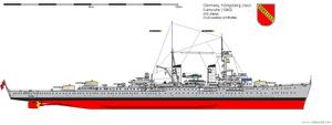 Light Cruiser Karlsruhe (1940) by DG-Alpha