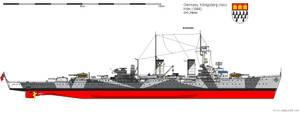 Light Cruiser Koeln (1944) by DG-Alpha