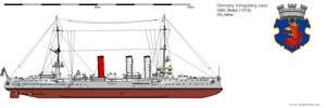 Light Cruiser Stettin (1916) by DG-Alpha