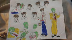 Denny Ipkiss/Kid Mask  by dksponge13