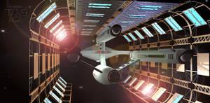 USS Federation Drydock 4 by TrekkieGal
