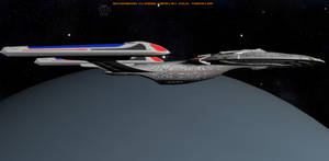 U.S.S. Federation NCC-73838: Final Orbit by TrekkieGal