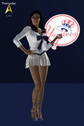 2014 New York Yankees by TrekkieGal