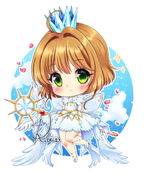 Sakura card captor-Chibi by KARIS-coba