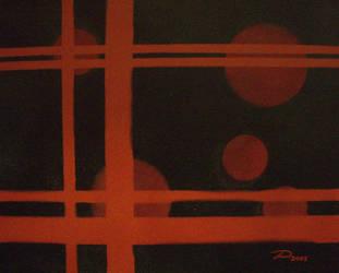 Crimson Orbs by dtrammell