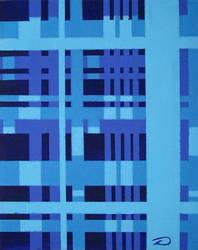 Perpendicular Blue 1 by dtrammell