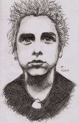 Billie Joe Armstrong by Kayalina
