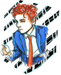 Gerard Way 9 by Kayalina
